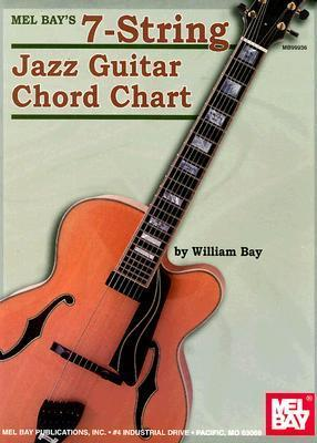7-String Jazz Guitar Chord Chart William Bay