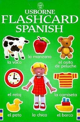 Usborne Flashcard Spanish J. Litchfield