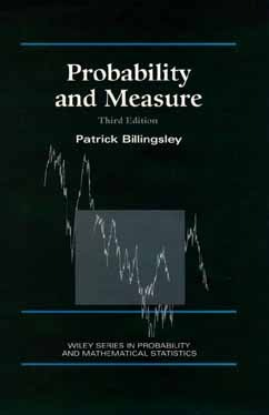 Convergence of Probability Measures  by  Patrick Billingsley