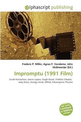 Impromptu (1991 Film) Frederic P.  Miller