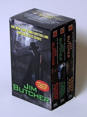 Dresden Files Boxed Set (The Dresden Files, #1-3)  by  Jim Butcher