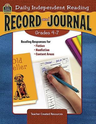Daily Independent Reading Record and Journal, Grades 4-7  by  PAMELA PIERSON