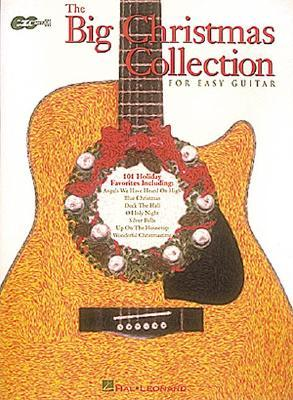 The Big Christmas Collection for Easy Guitar  by  Bernard Scott