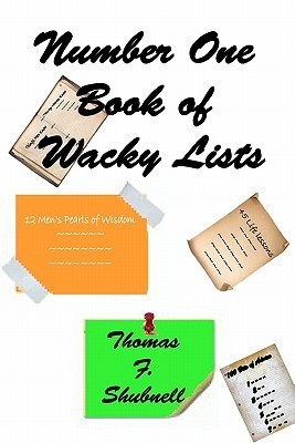 Number One Book of Wacky Lists  by  Thomas F. Shubnell