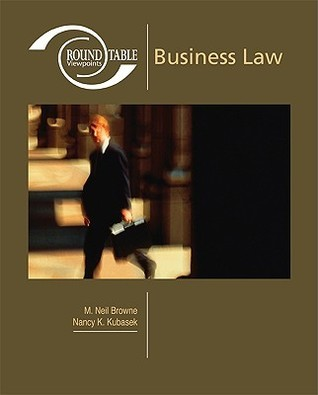 Roundtable Viewpoints: Business Law M. Neil Browne