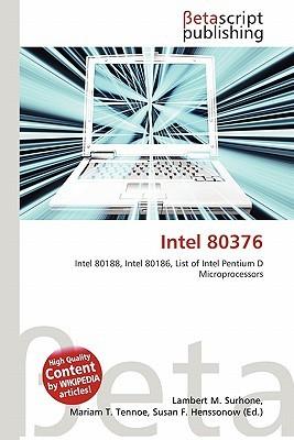Intel 80376 NOT A BOOK