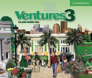 Ventures 3 Class Audio CD K. Lynn Savage