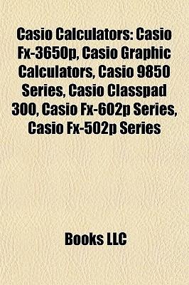 Casio Calculators Books LLC