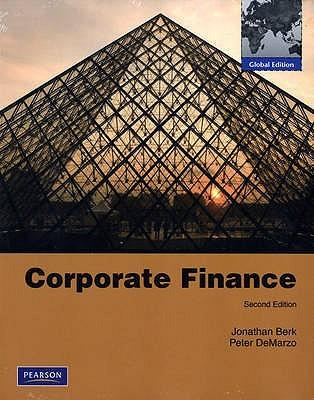 Corporate Finance Jonathan Berk