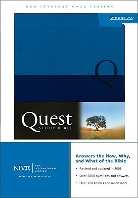 Quest Study Bible: The Question and Answer Bible NIV Anonymous