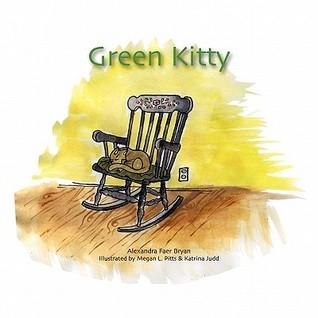 Green Kitty  by  Alexandra Faer Bryan