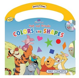 Pooh and Friends Colors and Shapes [With CD (Audio)]  by  Laura Gates Galvin