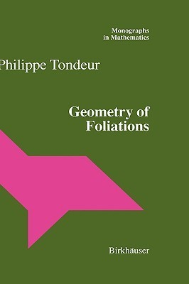 Geometry of Foliations Philippe Tondeur