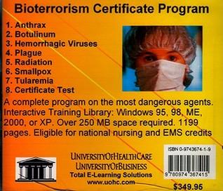 Bioterrorism Certificate Program Daniel Farb