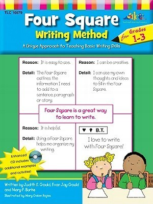 Four Square Writing Method Grades 1 3 W/ Enhanced Cd  by  Judy Gould