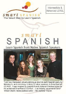 SmartSpanish Audio CDs Int/Adv -  Learning spanish the smart way C. Aubert