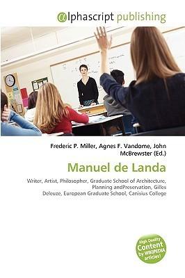 Manuel de Landa Frederic P.  Miller