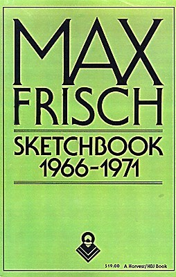 Sketchbook 1966-1971  by  Max Frisch