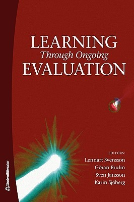 Learning Through Ongoing Evaluation  by  Lennart Svensson