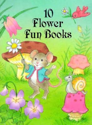10 Flower Fun Books Dover Publications Inc.