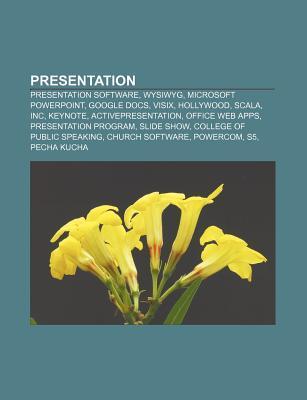 Presentation: Pecha Kucha, Slideshow, Technical Presentation, Picturestoexe, Photo Slideshow Software, Crystalgraphics, Pubcast  by  Books LLC