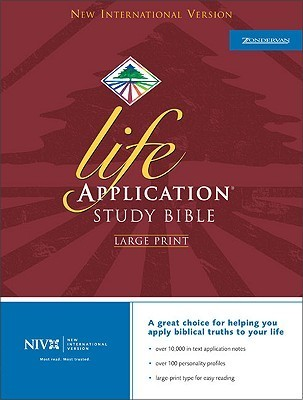 Holy Bible: NIV Life Application Study Bible, Large Print, Indexed Anonymous