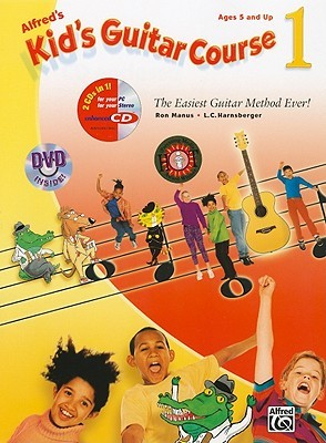 Kids Guitar Course 1 (Book, Enhanced CD & DVD) Alfred A. Knopf Publishing Company, Inc.