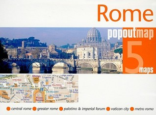 Rome popoutmap COMPASS MAPS  LTD.