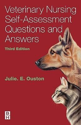 Veterinary Nursing Self-Assessment Julie Elizabeth Ouston