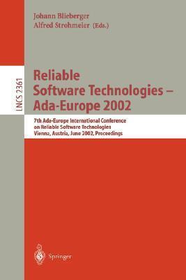 Reliable Software Technologies   Ada Europe 2002  by  Johann Blieberger