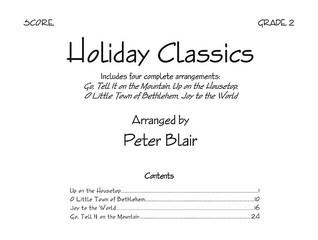 Holiday Classics - Score Peter Blair