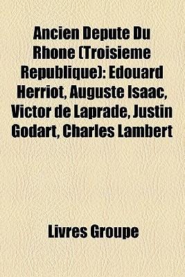 Ancien D Put Du Rh Ne  by  Livres Groupe