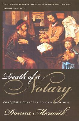 Death of a Notary Donna Merwick