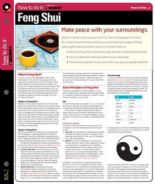 Feng Shui  by  Quamut