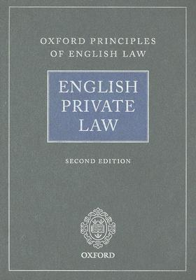 English Private Law  by  Andrew Burrows