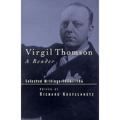 VIRGIL THOMSON (1896