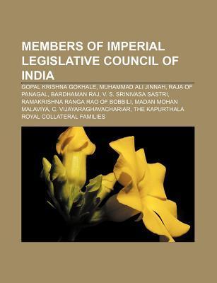 Members of Imperial Legislative Council of India: Gopal Krishna Gokhale, Muhammad Ali Jinnah, Raja of Panagal, Bardhaman Raj  by  Source Wikipedia