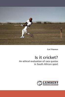 Is It Cricket? Carl Thomen