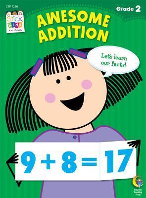 Awesome Addition Stick Kids Workbook Janet Sweet