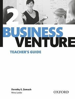 Business Venture 2 Teachers Guide  by  Dorothy Zemach