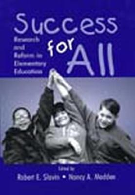 Success for All CL  by  Robert E. Slavin