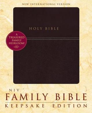 Family Bible-NIV-Keepsake Anonymous