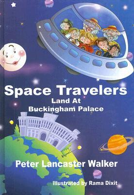 Space Travelers Land at Buckingham Palace  by  Peter Lancaster Walker