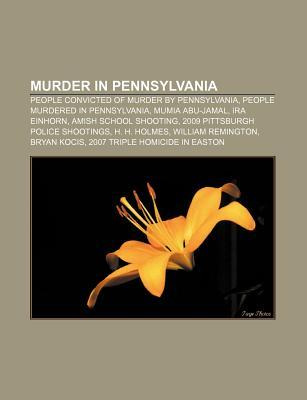 Murder In Pennsylvania  by  Unknown Author 132