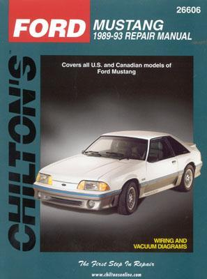 Ford Mustang, 1989-93  by  Chilton Automotive Books
