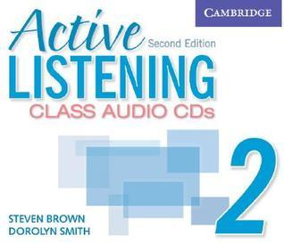Active Listening 2 Class Audio CDs  by  Steven  Brown