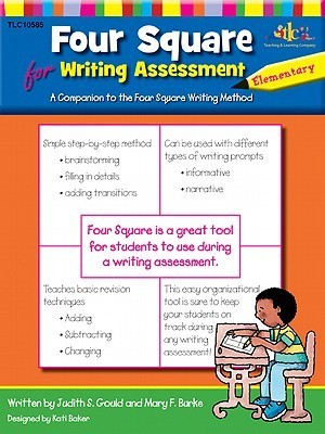 Four Square for Writing Assessment - Elementary  by  Judy Gould