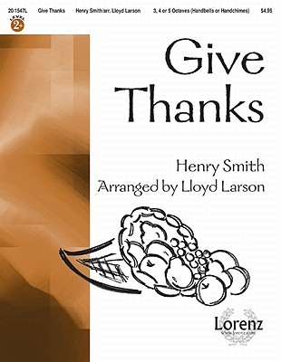 Give Thanks Lloyd Larson