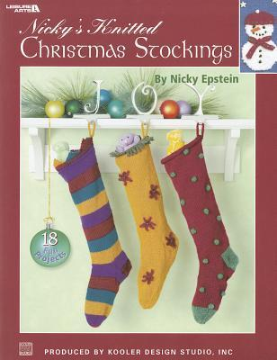 Nickys Knitted Christmas Stockings  (Leisure Arts #3689)  by  Nicky Epstein