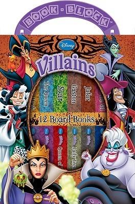 Disney Villains: 12 Board Books (My First Library: Book Block)  by  Publications International Ltd.